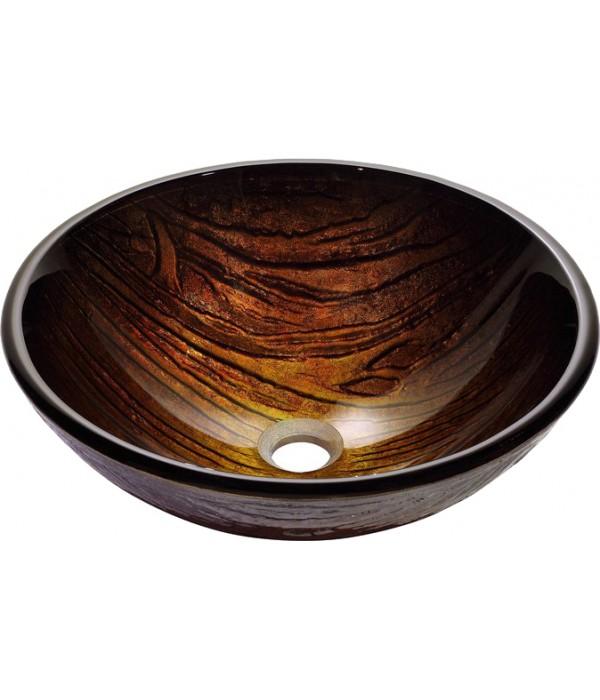 Рукомойник Kraus GV-394-19 mm древесно-коричневый
