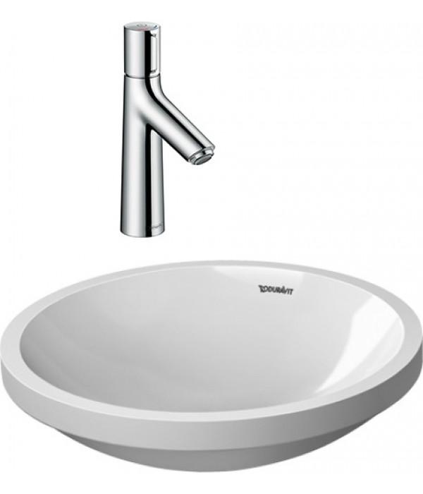 Комплект Рукомойник Duravit Architec 0319420000 + Смеситель Hansgrohe Talis Select S 72042000 для раковины