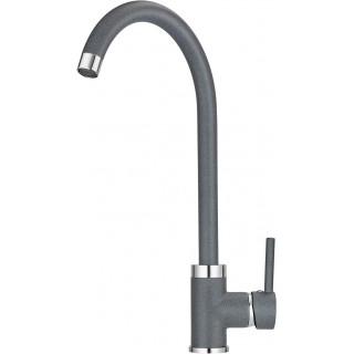 Смеситель Granula GR-2125 для кухонной мойки, графит
