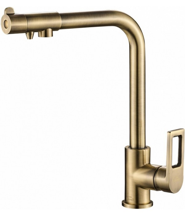 Смеситель Steel Hammer SH 572 BRONZE для кухонной мойки