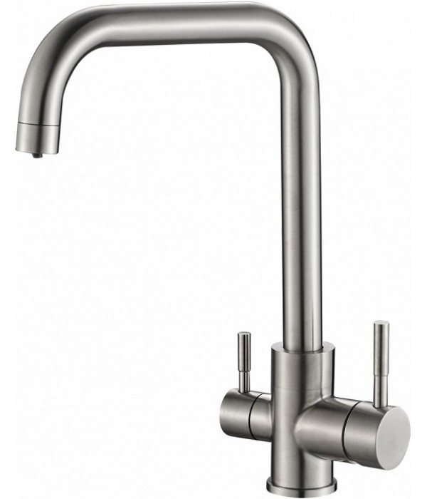 Смеситель Steel Hammer SH 715 INOX для кухонной мойки