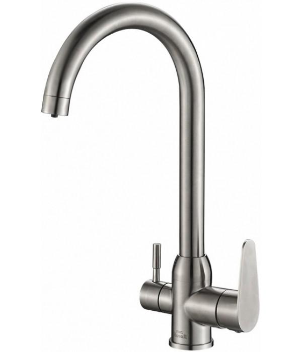 Смеситель Steel Hammer SH 723 INOX для кухонной мойки