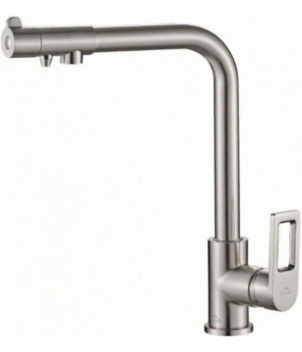 Смеситель Steel Hammer SH 572 SATIN для кухонной мойки