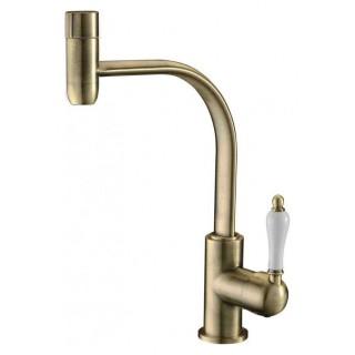 Смеситель Zorg Clean Water ZR 324 YF-50 BR для кухонной мойки