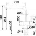 Смеситель Blanco Linus-S 517621 для кухонной мойки