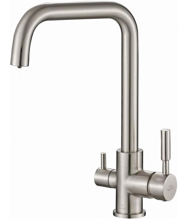 Смеситель Steel Hammer SH 715 SATIN для кухонной мойки