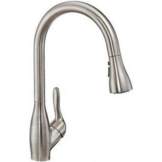 Смеситель E.C.A. Kitchen Mixers 406218020 для кухни, нержавеющая сталь