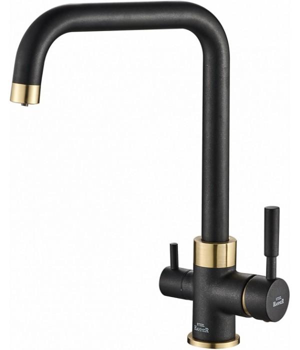 Смеситель Steel Hammer SH 715 BLACK BR для кухонной мойки