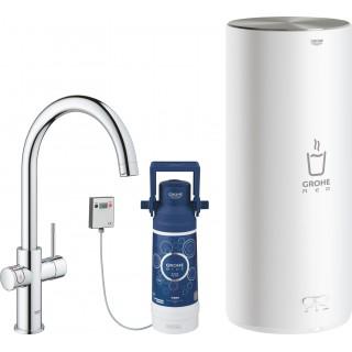 Смеситель Grohe Red II Duo 30079001 для кухонной мойки, с водонагревателем