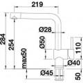 Смеситель Blanco Linus 517622 для кухонной мойки