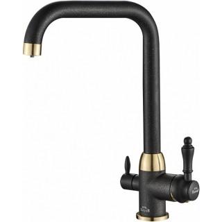 Смеситель Steel Hammer SH 725 BLACK BR для кухонной мойки