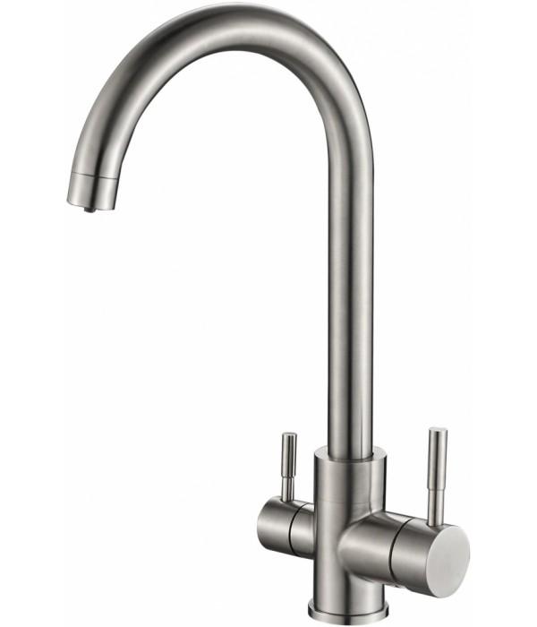 Смеситель Steel Hammer SH 713 INOX для кухонной мойки