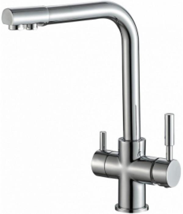 Смеситель Steel Hammer SH 552 CR для кухонной мойки