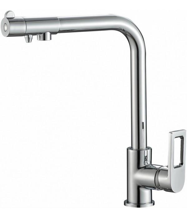 Смеситель Steel Hammer SH 572 CR для кухонной мойки