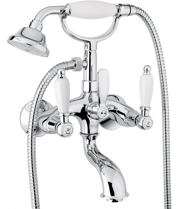 Смеситель Fiore Coloniale 02CR0600 для ванны с душем