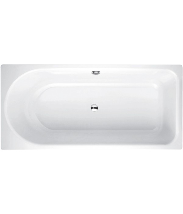 Стальная ванна Bette Ocean 8856 PLUS, AR перелив сзади
