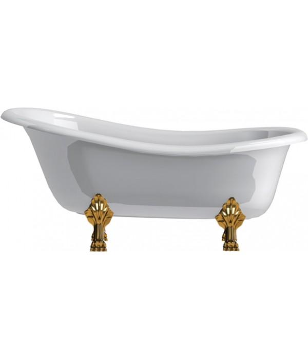 Ванна из искусственного камня Астра-Форм Роксбург ножки золото