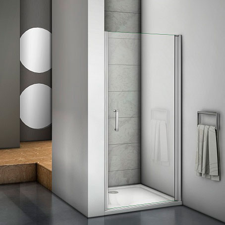 Душевая дверь в нишу Good Door Mokka DR-80-C-WE 80 см