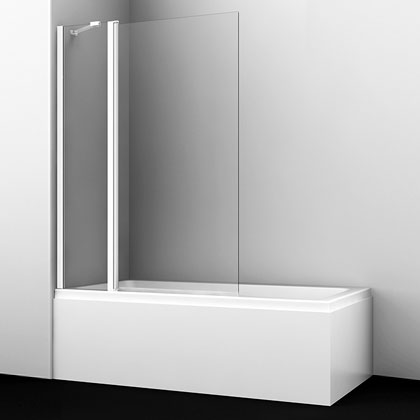Купить со скидкой Шторка на ванну Wasserkraft Berkel 48P02-110W