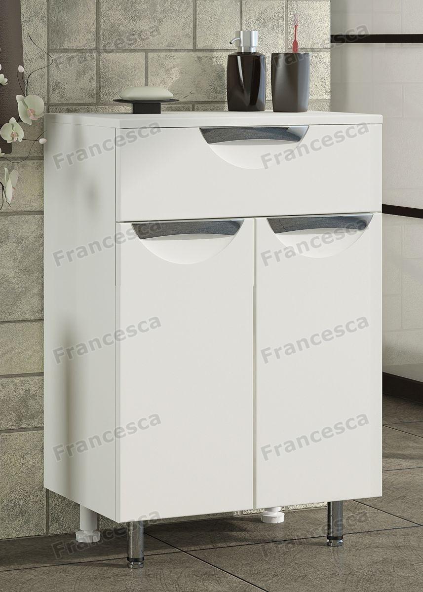 Тумба напольная Francesca Доминго 50 белый
