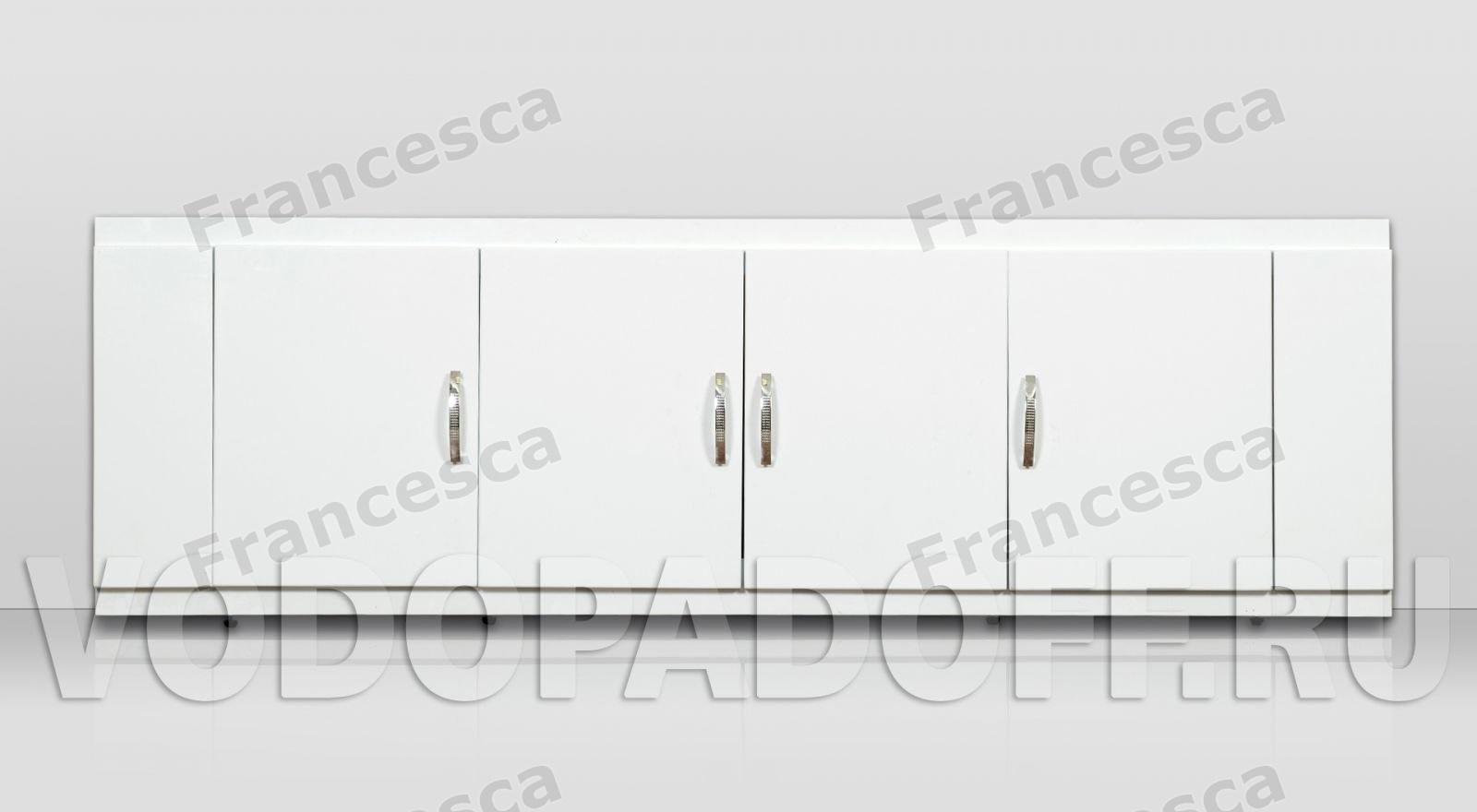 Купить со скидкой Экран под ванну Francesca 150 см МДФ с дверцами
