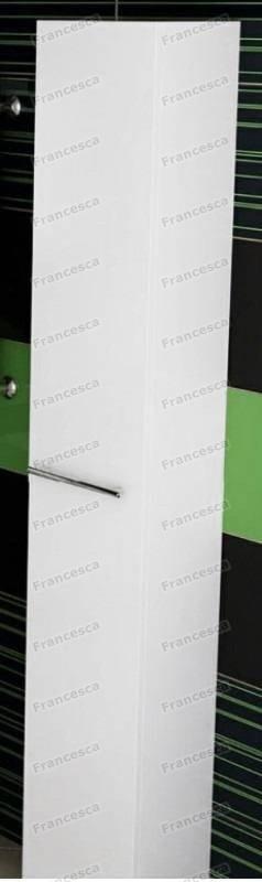 Купить со скидкой Пенал Francesca Милана 35 подвесной белый