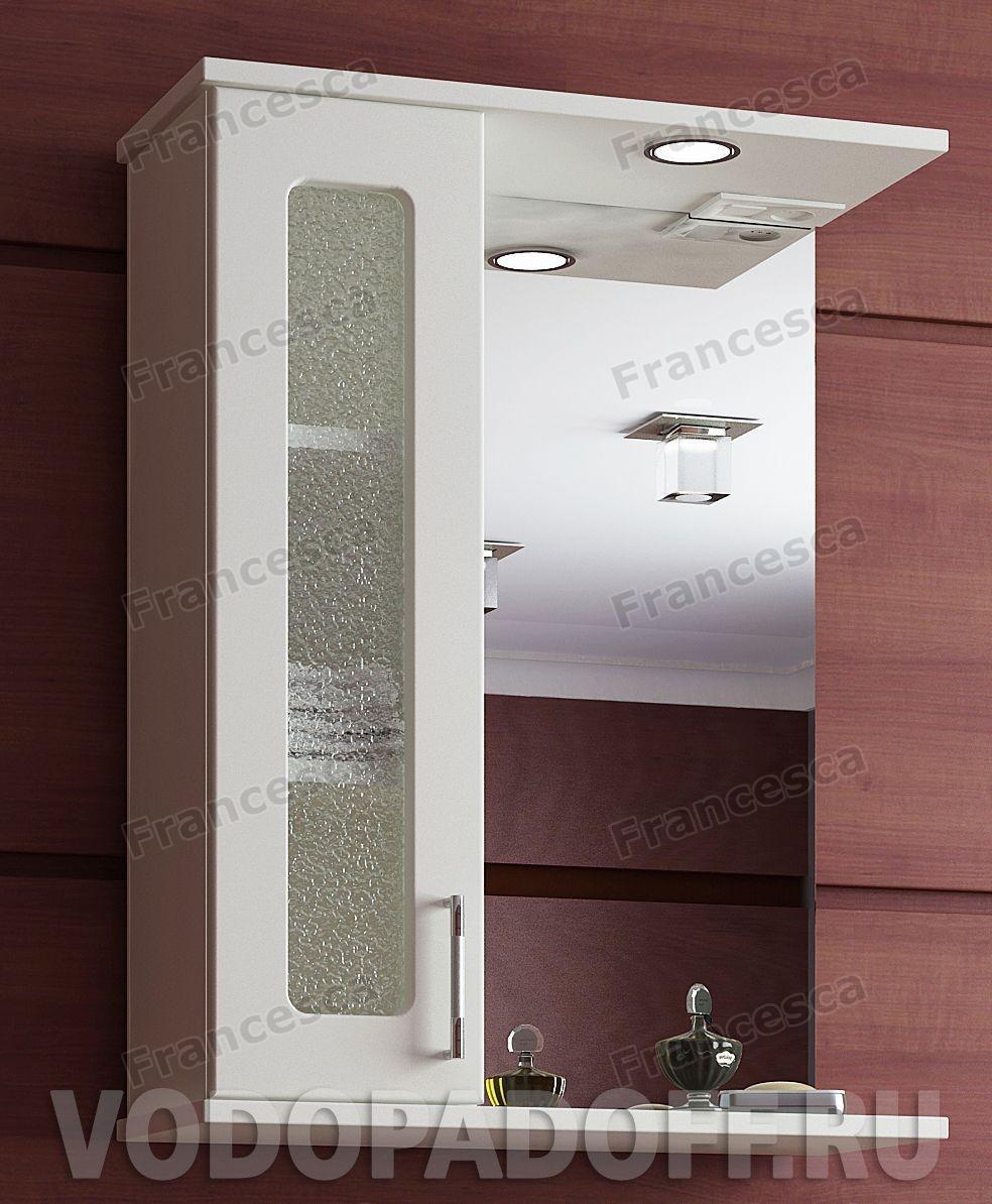 Шкаф-зеркало Francesca Оптима 65 С