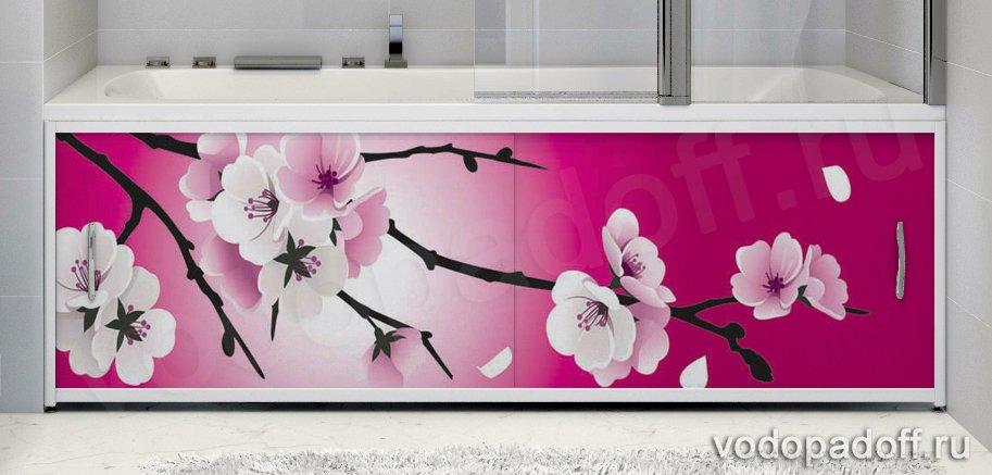 Фотоэкран для ванны Francesca Premium Мечта Размер на заказ изготовление 1-2 дня