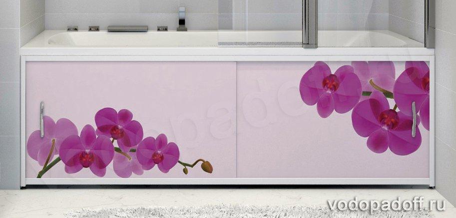 Фотоэкран под ванну Francesca Premium Нежность Размер на заказ изготовление 1-2 дня