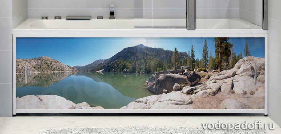 Фотоэкран под ванну Francesca Premium Романтика Размер на заказ изготовление 1-2 дня