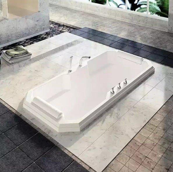 Акриловая ванна RADOMIR Фернандо с возможностью установки