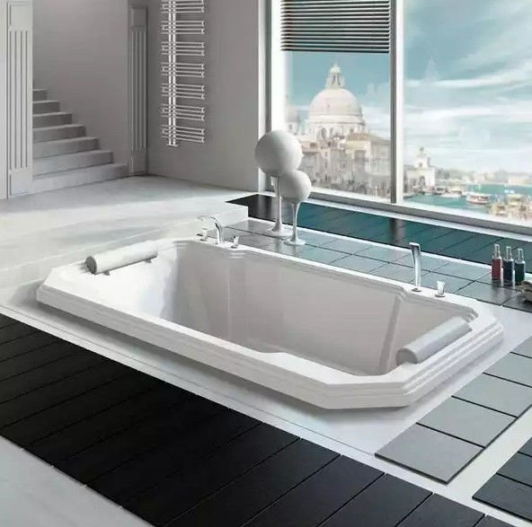 Акриловая ванна RADOMIR Фонтенбло с возможностью установки