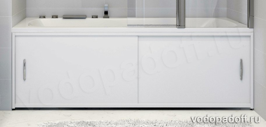 Экран под ванну Francesca Premium белый размер