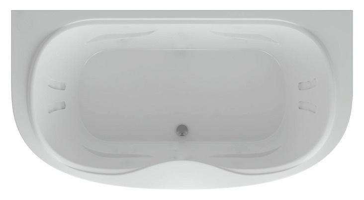 Акриловая ванна Акватек Мелисса